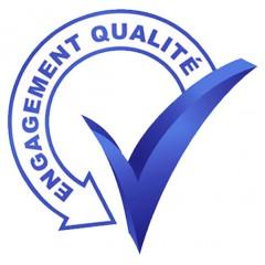 Logo « Engagement qualité »